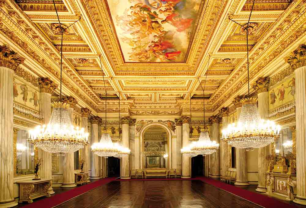 Palazzo reale interni