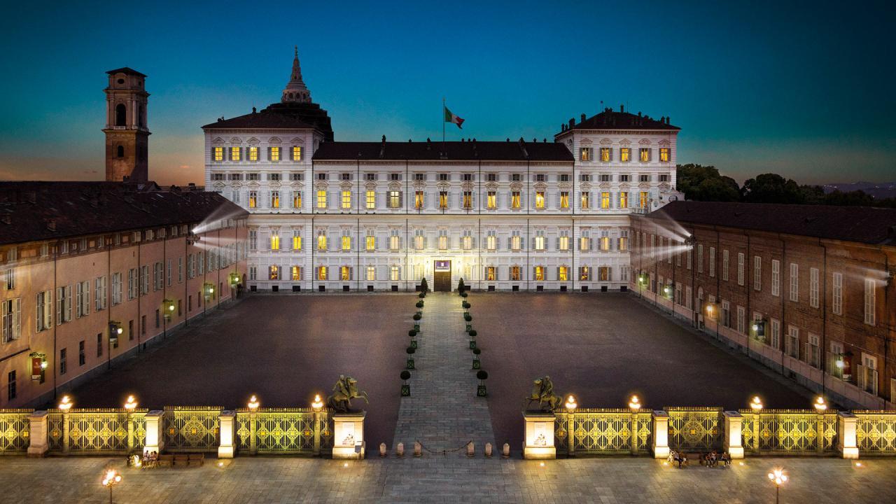 Palazzo Reale vista